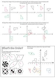 rotations powerpoint lesson by mrbartonmaths teaching