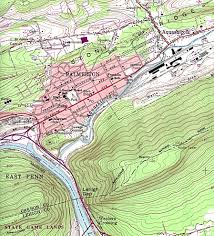 Lancaster Pa Zip Code Map by Download Free Pennsylvania Maps