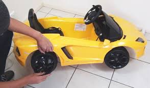 lamborghini murcielago ride on car lamborghini aventador ride on car remote unboxing diy