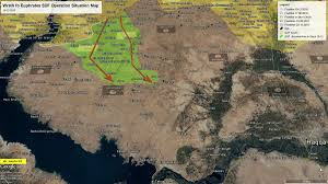 Tabqa Dam Raqqa Syria Google Maps by Day Of News On The Map December 16 2016 Map Of Syrian Civil
