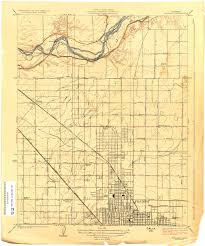 Map Of Fresno California Topographic Maps Perry Castañeda Map Collection Ut