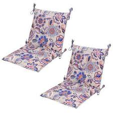 floral attached ties outdoor cushions patio furniture the