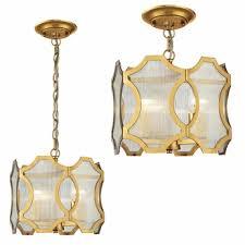 gold pendant light fixtures elk 31466 3 benicia contemporary antique gold leaf ceiling lighting