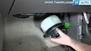ac fan motor replacement cost how to install replace heater ac blower fan motor 1992 97 honda