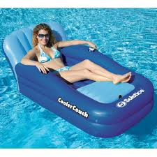 floating couch the floating couch and cooler hammacher schlemmer