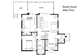 House Plans With Detached Guest House 100 1 Bedroom Guest House Floor Plans One Bedroom Pool