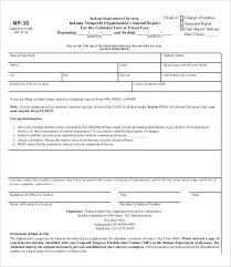 free annual report template non profit annual report template 8 free word pdf documents