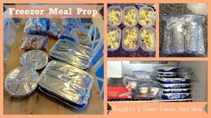 meal prep freezer meals youtube
