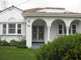 Mission Style House A Spanish Mission Style Villa In White Moonee Ponds Flickr