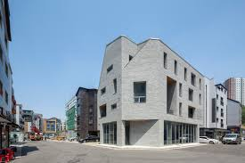 gallery of guwol multi family house u0026 commercial stores seoga