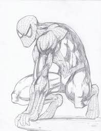 weird spiderman drawing mifty is bored