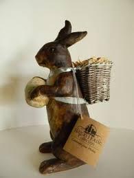 paper mache bunnies modern easter decor easter easter decor easter