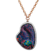 black opal necklace images Lightning ridge collection black opal jewelry and gemstones jpg