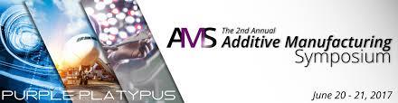 design event symposium second annual additive manufacturing symposium purple platypus
