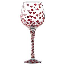 superbling red wine glass available from flamingo gifts