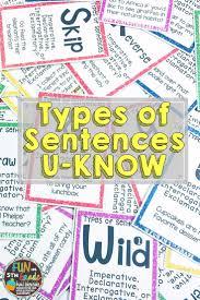 Declarative And Interrogative Sentences Worksheets 122 Best Writing U0026 Grammar Images On Pinterest Teaching Writing
