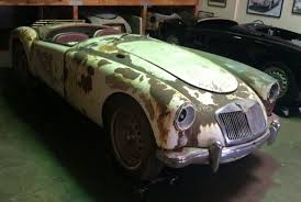for restoration for sale mg mga xfgiven type xfields type xfgiven type 1959 white for