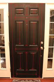 door design painting an exterior door spray paint the front no