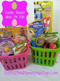 easter baskets for kids sugarless and easter basket goodie ideas for toddlers and