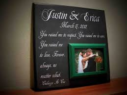 wedding gift ideas from parents awesome wedding gift ideas for parents b34 on pictures selection