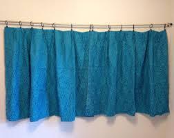 Kitchen Curtains Blue Blue Curtains Etsy