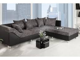 canapé d angle gauche canape d angle droit sultan noir