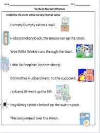 verbs worksheets action words for grade 1 by rituparna reddi