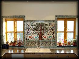 kitchen kitchen backsplash mural tile ideas on a murals metal d