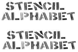 printable alphabet stencils alphabet stencils free premium templates