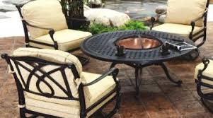 Outdoor Firepit Tables Brilliant Summer Nights Patio Ideas Gas Pit Table