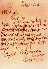 casebook jack the ripper ripper letters