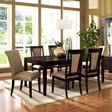 furniture exquisite glass top dining room table sets charcoal