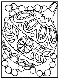 coloring pages amusing christmas ornament coloring pages