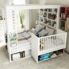 4you 4 poster double bed with storage u0026 shelves in white single beds