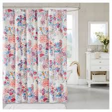 Minnesota Vikings Shower Curtain - pink floral shower curtains target