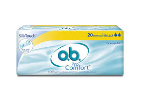 Most Comfortable Tampons For Swimming Buy O B Procomfort Tampons Regular Average Flow 20 Piece