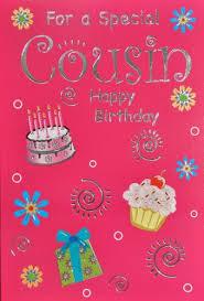cousin birthday card cousin birthday card