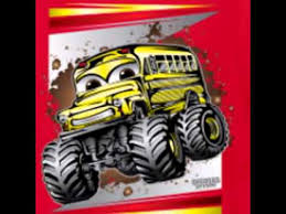 kids monster truck shirts