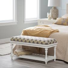 White Bedroom Storage Furniture Classy Bedroom Design With Cool Bench Seat And Drum Shape White