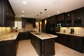 brilliant dark kitchen cabinet ideas pertaining to interior