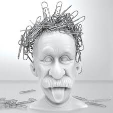 Magnetic Desk Accessories Albert Einstein Genius Bald Headed Magnetic Paper