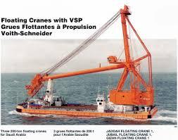Gizan Floating Crane 1 8215687 Crane Ship Maritime Connector Com