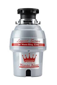 waste king legend series 3 4 hp continuous feed garbage disposal