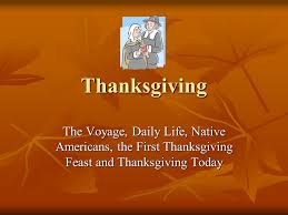 thanksgiving the voyage daily americans the