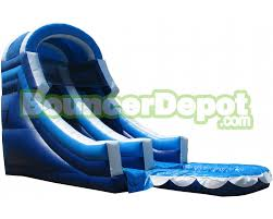 backyard inflatable water slides 20 feet front load backyard
