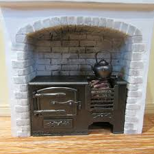 dolls house miniature kitchen range ebay fireplace pinterest