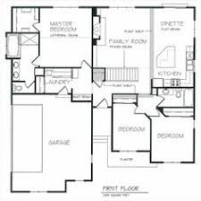 Open Concept House Plans One Story House Plans With Open Concept Plan 1275 Floor Plan