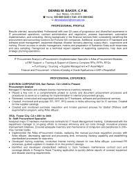 sourcing resume cover letter procurement specialist cover letter powerpoint specialist resume