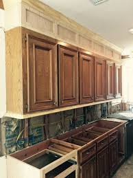 Resurfaced Kitchen Cabinets Before And After Best 25 Refinished Kitchen Cabinets Ideas On Pinterest Painting