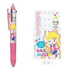 sailor moon frixion ball pen 3 colours stationerysailor moon